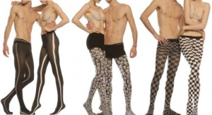 If you thought Meggings were silly enough, you have Mantyhose, which are pantyhose for men. Of course, before these, Lord knows what kind of stockings transvestites used.