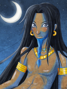 As god of the moon, Nanna is among the most benevolent and respected of the pantheon. However, his temperament is dependent on the time of the month.