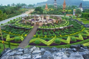 This is in a public botanical garden in Thailand. The Stonehenge is just a replica. Sorry, Ancient Alien conspiracy theorists (a. k. a. idiots).