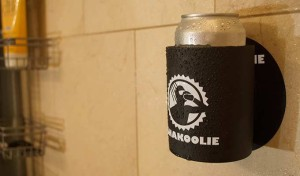 Showering can really get in the way of enjoying a cold beer. But with this shower beer holder, it doesn't have to be that way anymore. Of course, let's hope that soapy water doesn't get in the beer though.