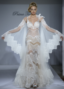 But whether this is supposed to be a wedding gown or a very elaborate nightie, I don't have the slightest idea. Seriously, it looks ridiculous if you ask me. You know most women wouldn't wear a lot of these wedding fashions on the runway.