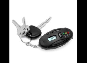 I'm sure giving your dad a breathalyzer keychain is a very subtle way to tell him that he has a drinking problem. Perhaps if your considering giving your dad this, it's probably time for an intervention.