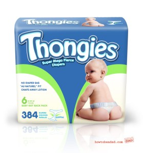 Thong diapers? Why in the hell do these exist? Seriously, these aren't just inappropriate but they probably aren't as effective as regular diapers.