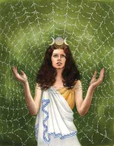 Though a minor goddess of weaving and clothing, Uttu is perhaps the best known Mesopotamian deity of the domestic sphere as well as the model for the perfect wife. However, her relationship with Enki is disturbing.