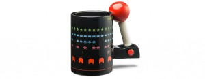 I'm sure this Atari game mug will bring anyone into feeling 1980s nostalgia. That, or help someone stay awake long enough to play videogames.