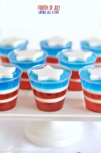 Now while jello is used in many desserts like these, doesn't mean they're for kids. So if you see jello cups like this, ask the host if they contain alcohol before your kid gets a hold of one. You'd thank me later.