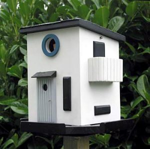 Sometimes what might cool in one way, might not in another. For instance, as a birdhouse this structure looks cool. But as an actual house, it would look ugly.
