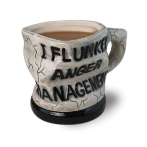 Remind me to stay away from the guy who owns this mug. Seriously, flunking anger management really doesn't say much good about you, especially if your name is Bruce Banner.