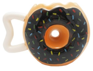 Now this would be a great mug to give that neighborhood police officer. Then again, he'd probably appreciate an actual donut much more.