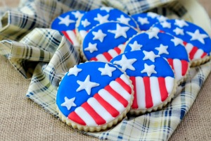 Now these have stars and stripes all over them. And with the right combination, they would taste patriotically sweet.