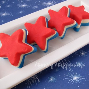 Man, isn't there anyone who doesn't like fudge? Other than nutritionists or dietitians? Then again, best to eat one patriotic fudge star at a time.