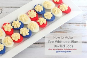 What disappoints me about these eggs is that they most likely weren't laid by a red, white, and blue chicken. Now that would've been awesome.