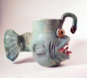 On second thought, this deep sea fish is one of the ugliest sea creatures ever. I mean it's almost the stuff of nightmares. Why anyone would want to have mug like this is anyone's guess.