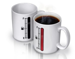 Now with this mug, I'm sure heating up your coffee will be much easier. Of course, you can also use something called,