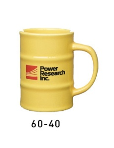 I'm sure British Petroleum's company mug not only looks like an oil drum, but it also contains some salty black liquid inside of it. And I'm sure it's not coffee.