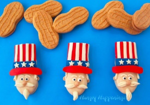 "Well, the picture calls these, ""Uncle Sam Nutter Butter Cookies."" Still, even if your kid thinks Uncle Sam is the brother to Colonel Sanders, they will probably enjoy them just the same."