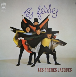 Now I'm not sure what distresses me about the French. The fact that Jerry Lewis has a considerable French fanbase or this album cover. I mean all these guys seem to want to spread their cape out and garner all the attention. Not sure why.