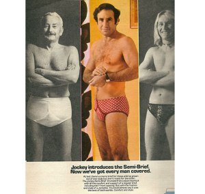 Still, too be fair, there are some things that Judd Hirsch might want to keep private about his pre-Taxi days. This ad might be one of them. But the underwear he was wearing was so ridiculous, I couldn't pass this up.