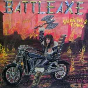 Seriously, I think there have been more couch burnings in Morgantown, West Virginia with more bad ass flames than this. Wonder if this album art was done by a family member of the band. Because I find cover design hard to take seriously.