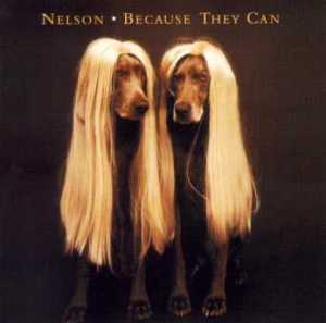 Now two guys in long blond wigs is one thing. But two dogs in long blond wigs like that? Now that's just freaking hilarious. But to the dogs, it must be humiliating.