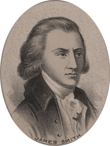 Prior to signing the Declaration of Independence, James Smith raised the first volunteer revolutionary militia in 1774. Other than that, he doesn't really seem to lead an exciting life. Also, most of his papers were destroyed in an office fire so we don't know much about him.