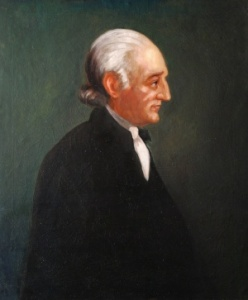 George Wythe was a noted classics scholar and judge who as a law professor at William and Mary be a mentor to a lot of America's future leaders. The most famous being Thomas Jefferson whom he willed his whole library to at his death.