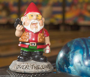 You think that garden gnomes were supposed to be rather docile and pleasant. However, Walter Sobchak in The Big Lebowski was anything but. So I think it's ironic that there's a garden gnome of him. Expect him to pull out his gun  and rant about his time in Nam.