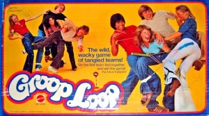 "Groop Loop: though seen as an alternative to Twister, teaches children that they're never too young to engage in some light bondage activities. Can also be called, ""Grope Loop."" Man, you got to love the 1970s."