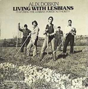 Either the people in this photo are very butch lesbians in very but clothing, which might perpetuate obvious stereotypes. Or they're all men, since it doesn't seem apparent to me that any of them have boobs.