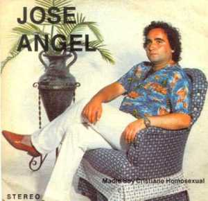 Still, stereotypically speaking, he more or less resembles a guy you'd see at a Jimmy Buffett concert in Florida. But yeah, the coming out bit to his mom via album cover is pretty funny. Perhaps he's better off telling her face to face. Then again, she probably knew anyway for years.