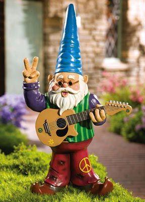 Miniature Dollhouse FAIRY GARDEN ~ Mini GNOMELAND Gnome Figurine w Ax