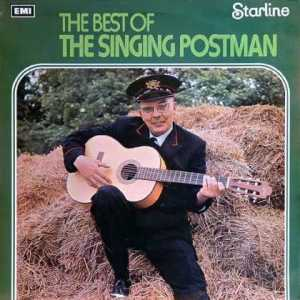 Seems friendly enough. But of course, he probably had to turn to music since he was said to sleep with every woman in town. But I'm not sure if that's for being a mailman or a musician.
