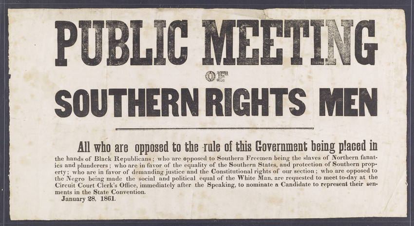 states rights in the civil war essay Civil rights movement in the united states, political, legal, and social struggle by black americans to gain full citizenship rights and to achieve racial equality.