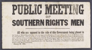 Whenever it came to states' rights in the years leading up to the American Civil War, it was only Southern states' rights that the South really cared about. To them, infringing their northern neighbors' rights not to support slavery was fair game to them. This was demonstrated with their support for the Fugitive Slave Act and the Dred Scott Decision. As with any states' rights proponent, Southerners only supported states' rights when it suited them.