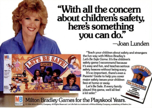 Though supposed to stimulate discussions about safety between parents and children, I'm not sure if this game would be something you'd want to play on a Friday night. Of course, some contents of this game is rather depressing as I've described.