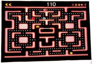Because playing Pacman on the floor is way too easy. Still, I'm sure any fan of Atari would want this in their living room.