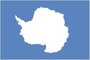 Yes, Antarctica has a flag. It has no inhabitants, no government, and no culture. But it has a flag with its landmass on it. Should've went with a penguin instead.