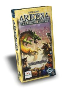 Colossal Arena is a game where spectators take bets on battles between mythological creatures. Kind of like a mythological version of the gladiatorial games and whatever Michael Vick was doing.
