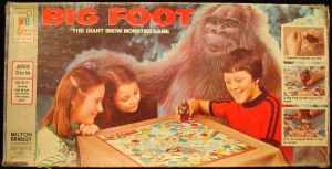 Now this is a game in which prospectors try to escape the monstrous wrath of dreaded Bigfoot in Alaska. Nevertheless, Bigfoot isn't a snow monster for God's sake. Seriously, Bigfoot is said to be in the Pacific Northwest.