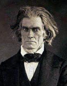 John C. Calhoun was an influential politician during the Antebellum Era as well as one of the most terrible who ever lived. His most important contributions are ideas that states can declare federal laws null and void that they believed unconstitutional as well as the notion of slavery being a positive good. Such views would be influential in South's escalating threats of and eventual secession.