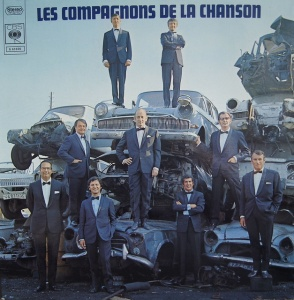 Well, I guess this was probably the only place available for an album photo shoot. Still, I'm not sure a junk yard is an appropriate photo op destination for an album I definitely know doesn't consist of rock music. Also, I think the tuxedos make the guys look a bit out of place.