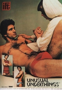 And for a moment, I thought that guy was Ted Danson from Cheers in the 1970s. Of course, you have to start somewhere. Still, not sure what to make about the chest hair.