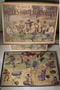 Now this may look like an old timey racist board game but it's really a modern fake (which makes it even worse). Nevertheless, it would be loved by anyone who's a fan of Chutes and Ladders as well as Birth of a Nation (with the latter group of fans being people I really don't want to associate with).