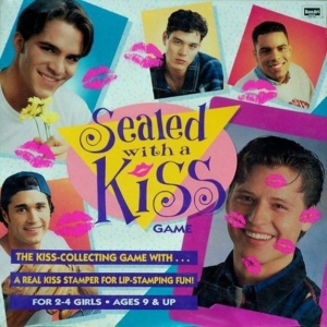 "In this game, players collect ""kisses"" on their ""boyfriend's"" picture which are marked with a ""kisser"" stamper. Of course, it's a stupid game targeted to preteen and teenage girls, obviously."