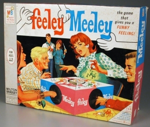 In this game, players are given a card of an item they have to find by sticking their hand in a box. Of course, such premise can easily turn a so-called weird family game into a weird adult game, especially when alcohol is involved.