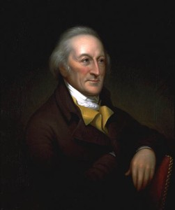 George Clymer was an early advocate for independence as well as was one of the few Continental Congress delegates to remain in Philadelphia in the interest of maintaining congressional business. Was also a delegate to the Constitutional Convention. Became a noted philanthropist later in life who donated the land that would become Indiana  Pennsylvania.
