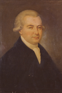 Though apprenticed as a carpenter, George Walton decided to pursue law as soon as he was legally able. He would soon damage his political career for his clashes with Button Gwinnett as result in his expulsion and indictment for various criminal activities. But he also helped defend Savannah and was held as a POW by the British for 2 years.