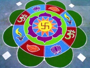 The swastika is a good example of how symbols can be interpreted in many different ways. In Jainism, Hinduism, and Buddhism, it's a sacred and auspicious symbol as well as a good luck charm. But try to explain that to Westerns who link it with Nazism, Anti-Semitism, totalitarianism, racism,  hate, and mass slaughter.