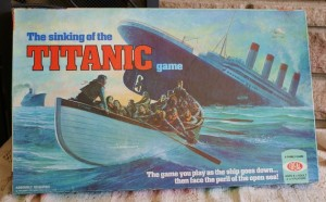 "Though it's marketed as an educational game The Sinking of the Titanic should really be labeled as ""misinformational"" at best. Seriously, not only is it an insensitive board game topic, it also gets the aftermath wrong. I mean they have the survivors scavenging for supplies in the islands with residing baboons. Playing this game might make you owe James Cameron an apology."