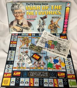 Now here is a board game based on the competitive world of network television before cable, conglomerates, premium channels and Netflix. It's an artifact that has ceased to be relevant.